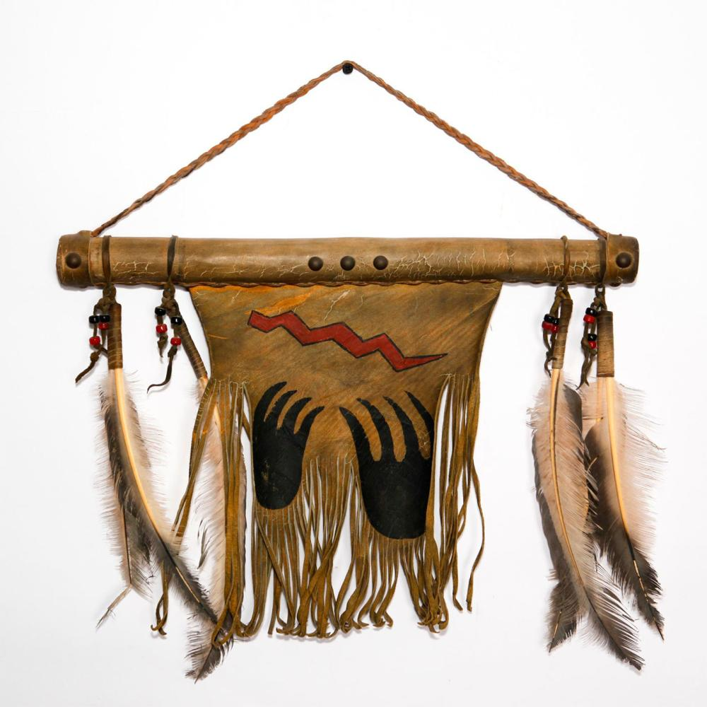 NATIVE AMERICAN WALL HANGING TAPESTRY