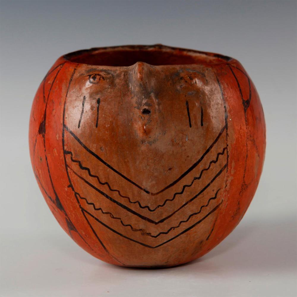 NATIVE AMERICAN TRIBAL MARICOPA POTTERY JAR