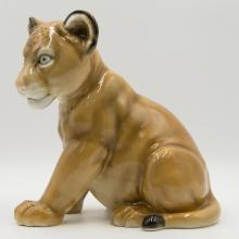 Hutschenreuther Selb Germany Lion Cub Figurine