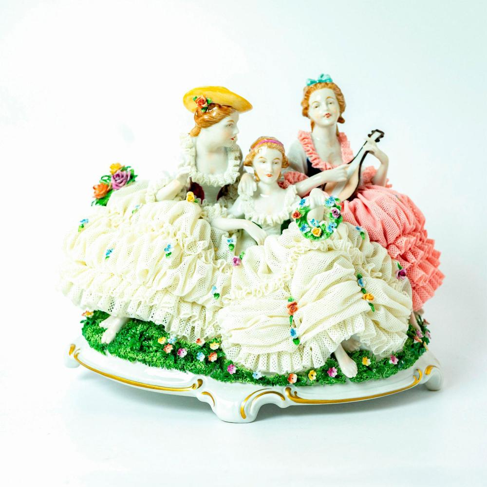 Unterweissbach Porcelain Lace Figurine