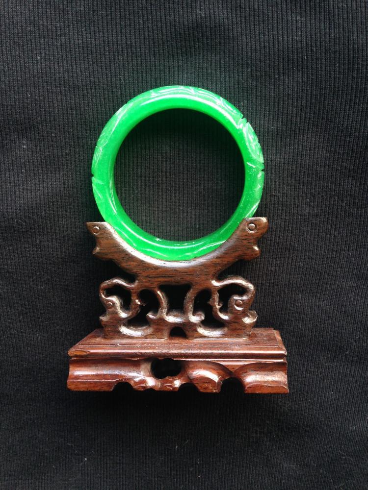 Chinese Jadeite Bangle