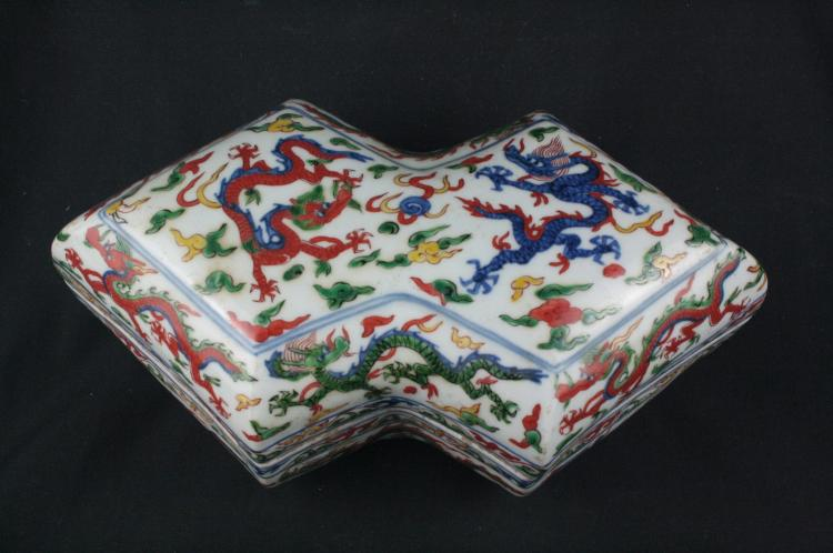 Chinese Doucai Porcelain Box