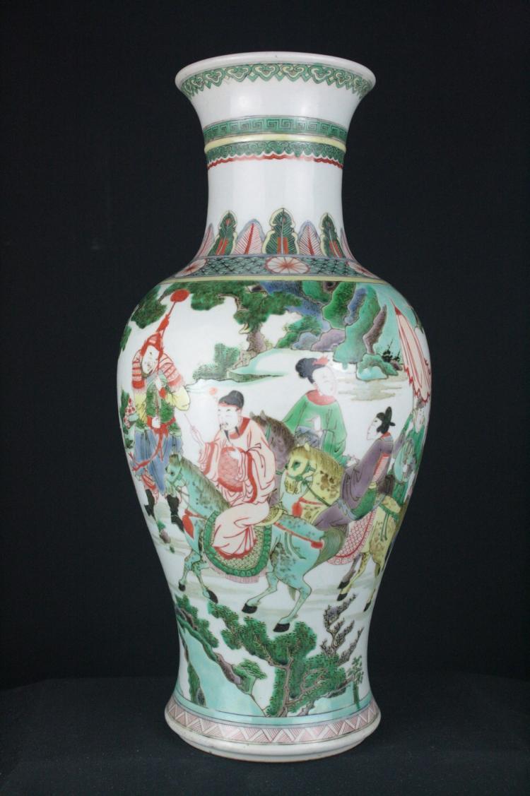 Chinese Doucai Porcelain Vase