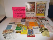 Large collection of vintage circus items