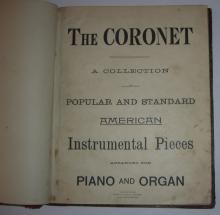 The Coronet sheet music book