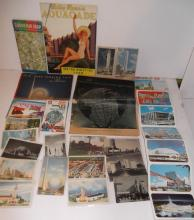 Large collection of assorted World's Fair items