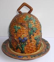 Contemporary Minton covered cake plate
