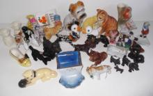 Large collection of assorted figurines