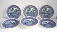 11 Copeland Spode's plates