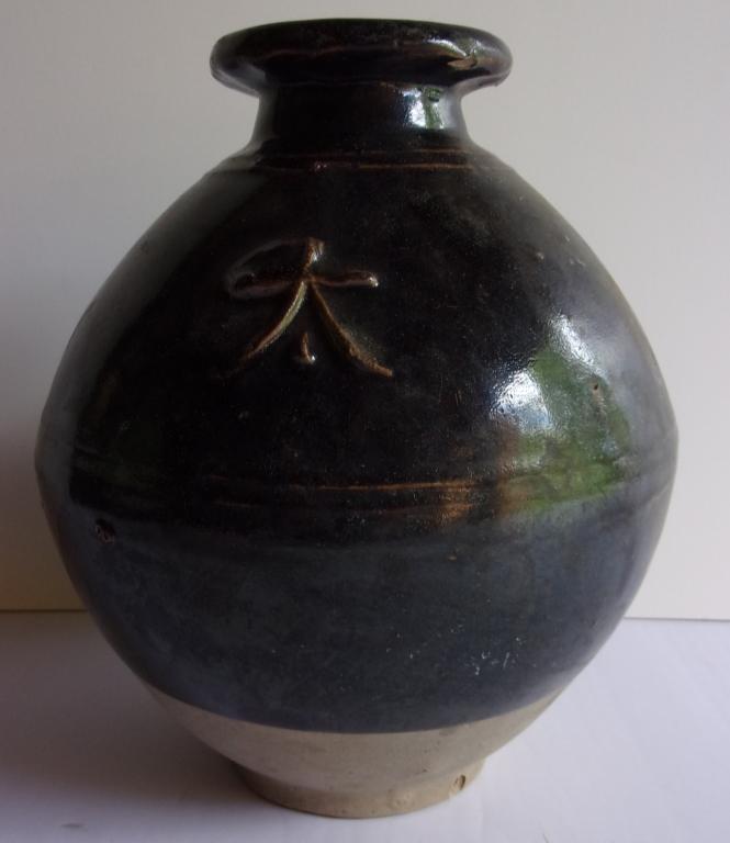 Japanese rice wine jug