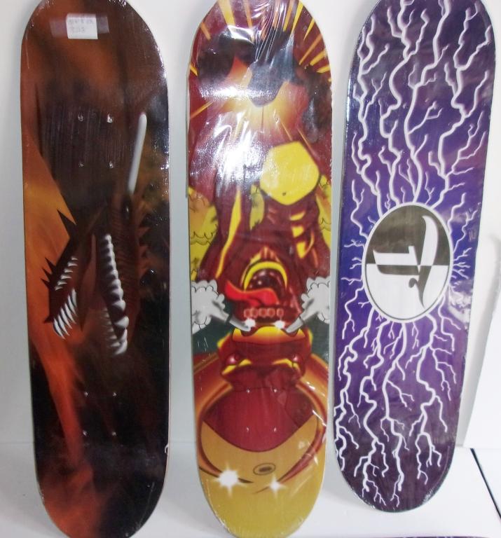 5 Contemporary Skateboard Decks
