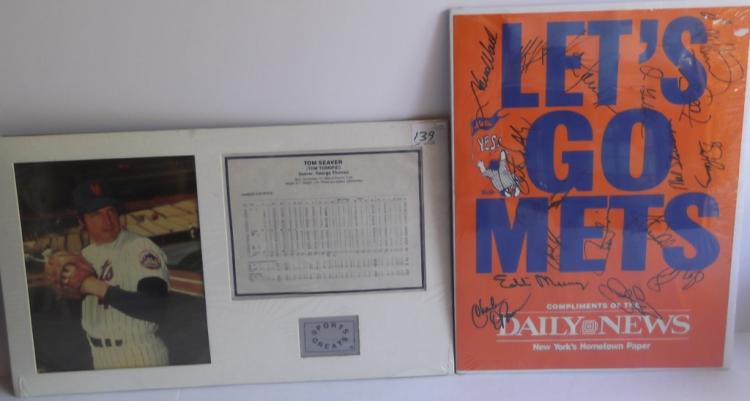 2 New York Mets souvenirs items