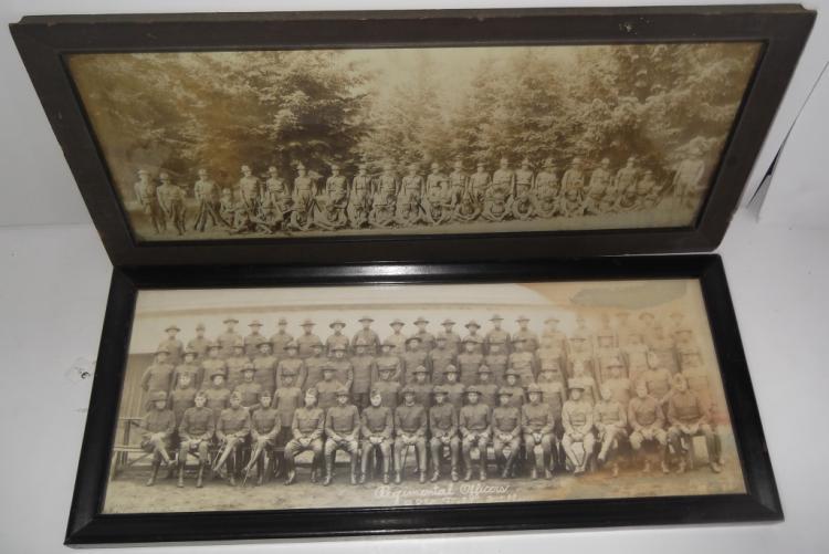 2 Military panoramic photos