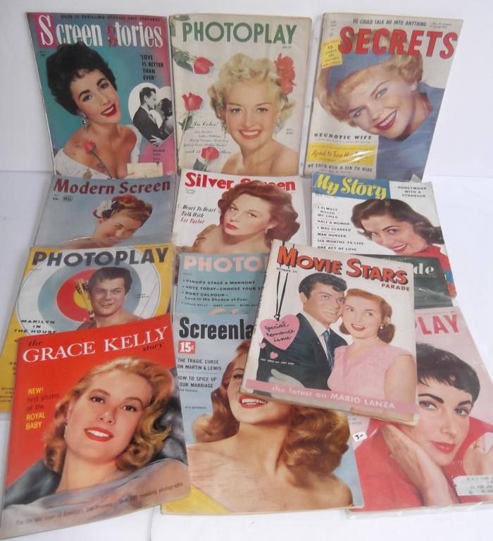 13 vintage women's magazines
