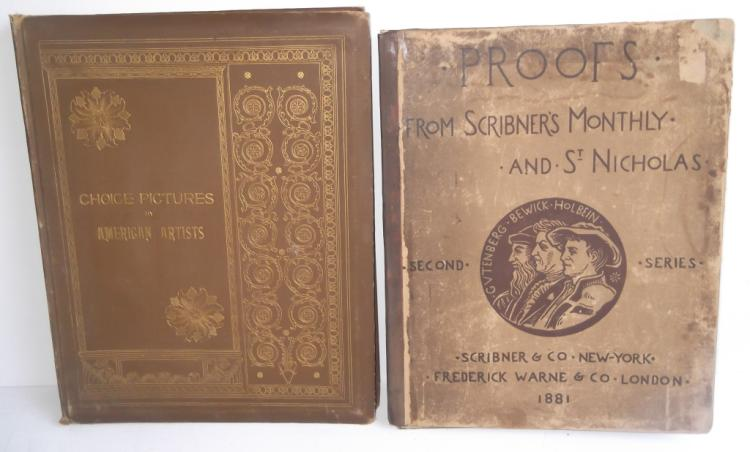 Book & folio of prints