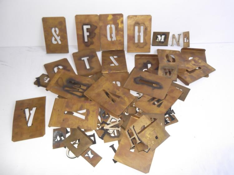 Collection of various letters numbers for Furniture 6 letters