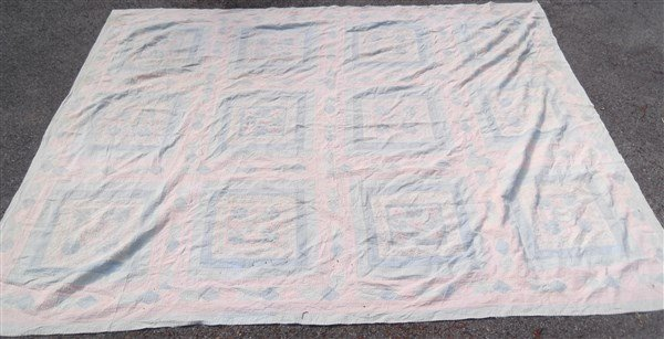 Vintage quilt cover