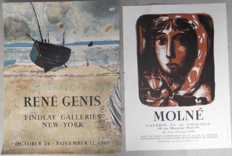 2 exhibition posters
