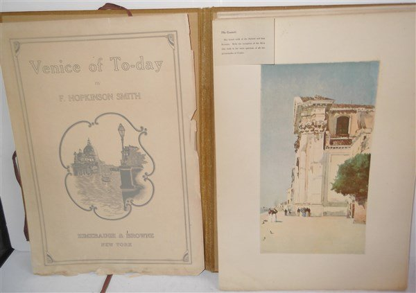 Venice of To-Day by F. Hopkinson Smith prints