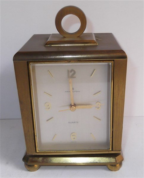 Swiss made Hamilton Quartz clock