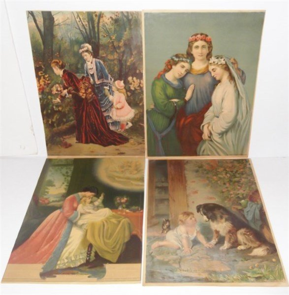 4 George Stinson & co. 1879 chromolithographs