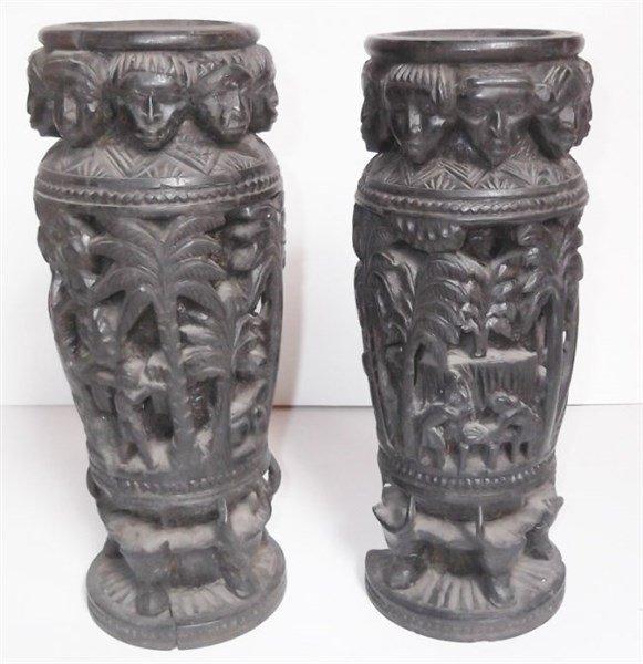 African Ebony statues