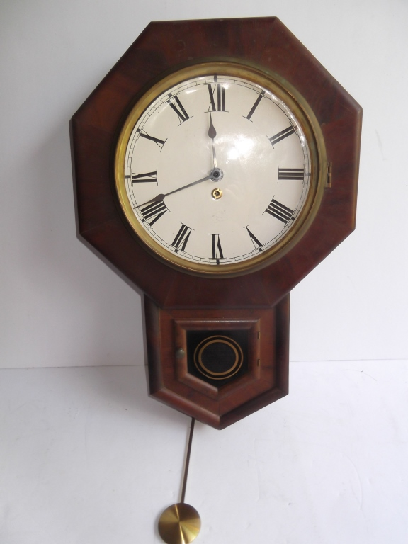 Waterbury wall hanging clock