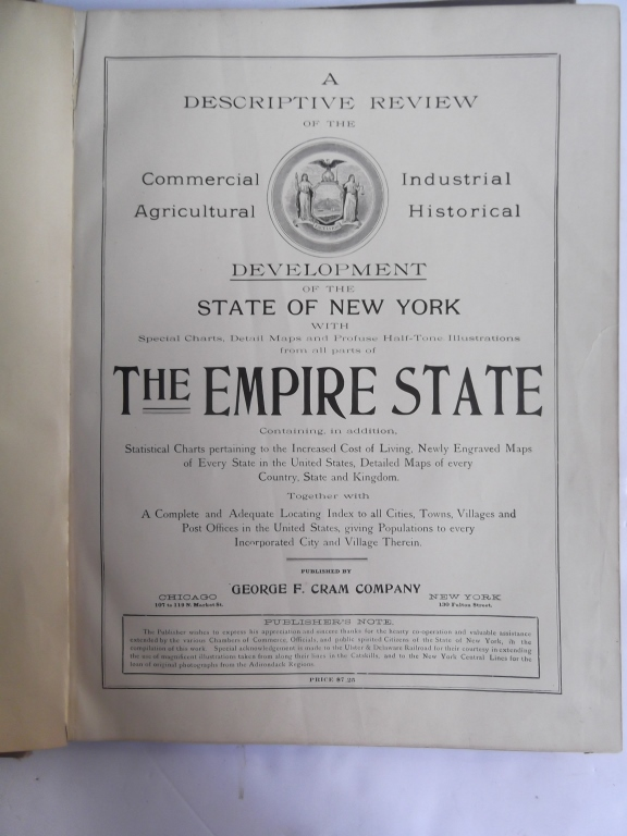 Descriptive Historical Industrial Review of NY