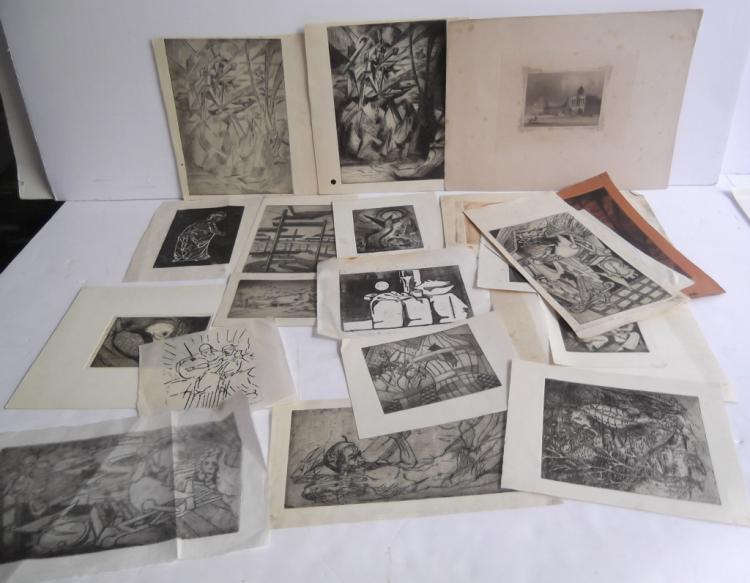 21 pieces of artwork