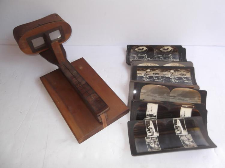 Model 40 eye comfort stereoscope viewer & cards