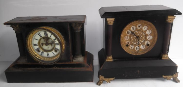 2 mantle clocks
