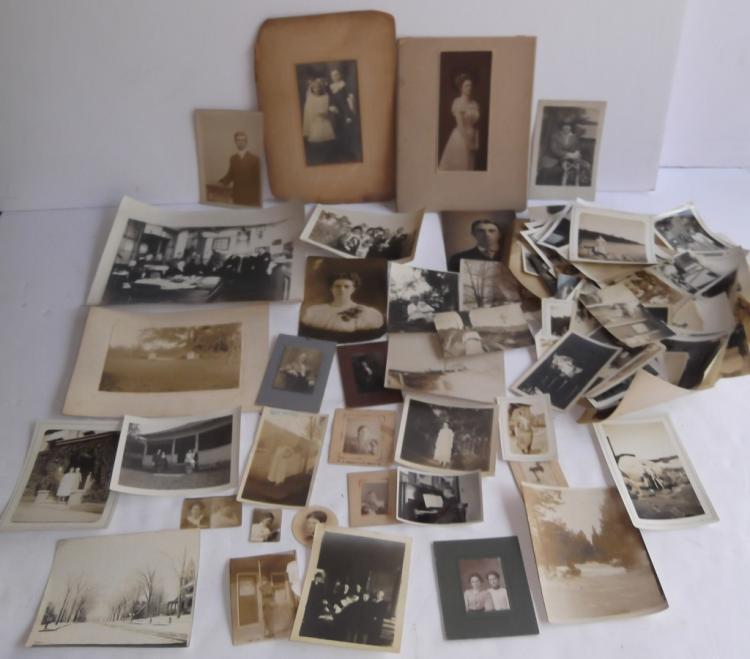 Collection of approx. 150 vintage photos
