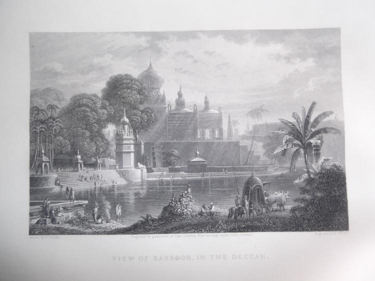 50 Indian view book plate engravings