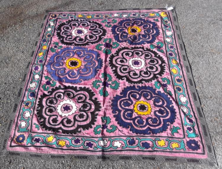 Vintage Suzani Central Asia Embroidery