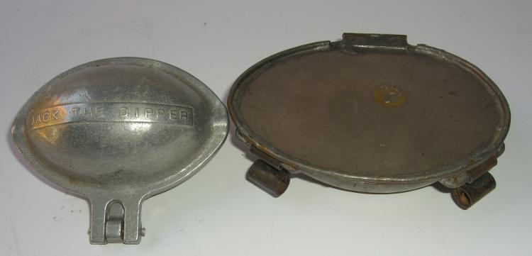 2 vintage chocolate molds