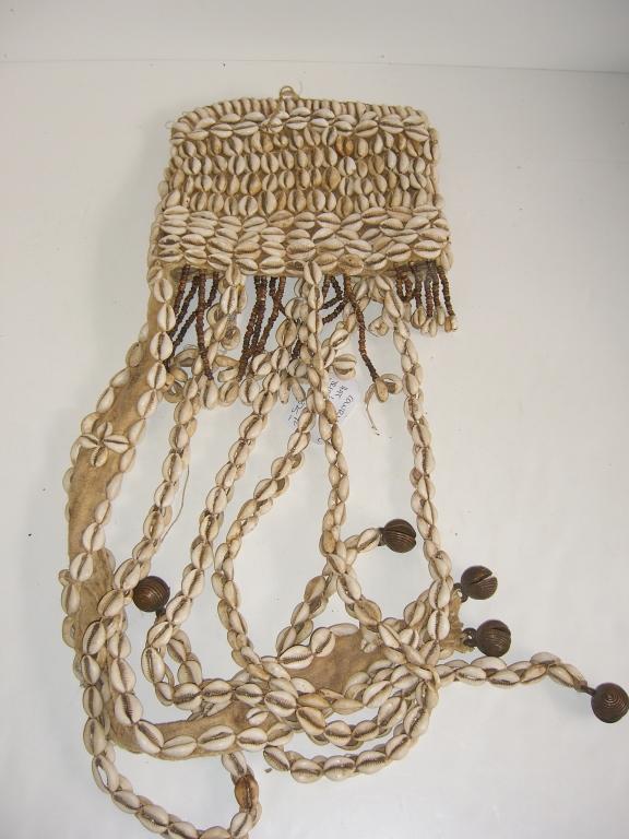 Cowry shell hat, Lega Tribe