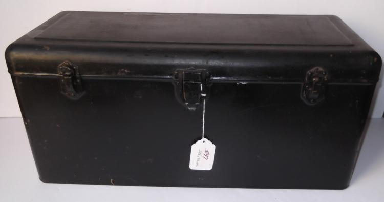 Vintage automobile steel box