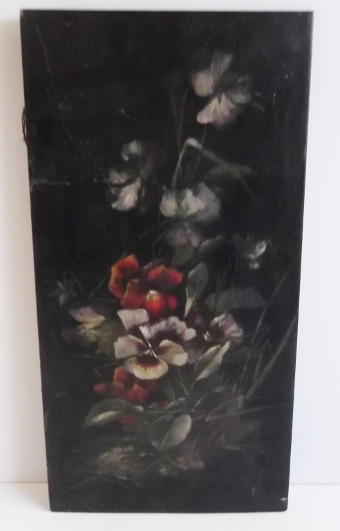 Hand painted wood panel