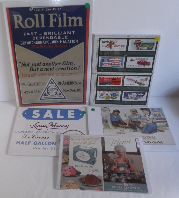 5 piece advertising lot