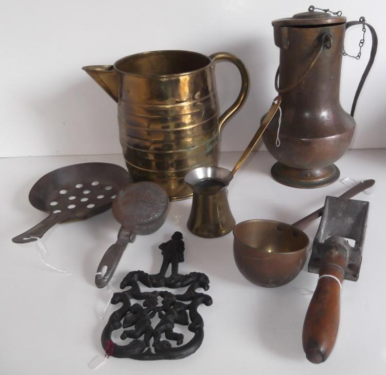 8 piece assorted vintage kitchenalia lot