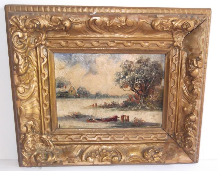 Eugene Laforet Oil Paintings