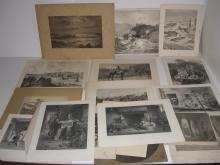 19 19th/20th c. bookplate engravings/etchings