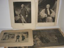 5 19th/20th c. bookplate engravings/etchings
