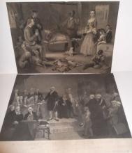 2 19th/20th c.  engravings/etchings