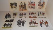 25 military uniforms in America prints