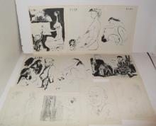 10 20th c. Picasso bookplate prints