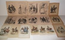 15 19th/20th c. military engravings/etchings