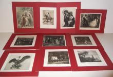10 19th/20th c. bookplate engravings/etchings