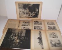 43 Rembrandt prints