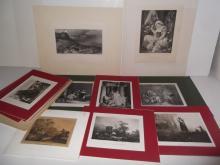 16 19th/20th c. bookplate engravings/etchings